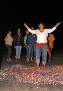 Feuerlauf für Gruppen